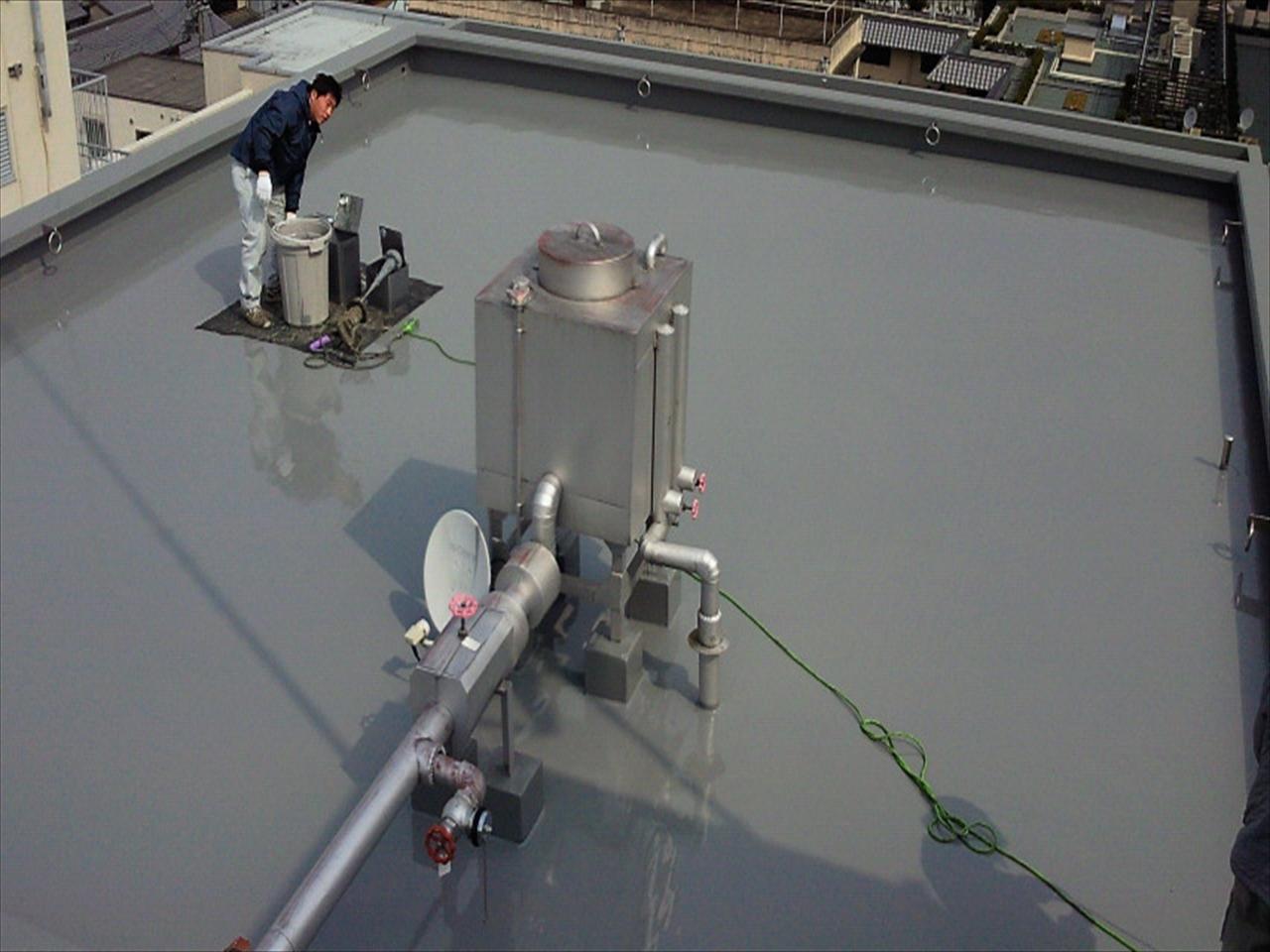 上京区Bマンション防水工事の施工後写真その2