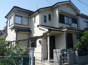 伏見区中田様邸外壁塗り替え工事の施工後写真その1