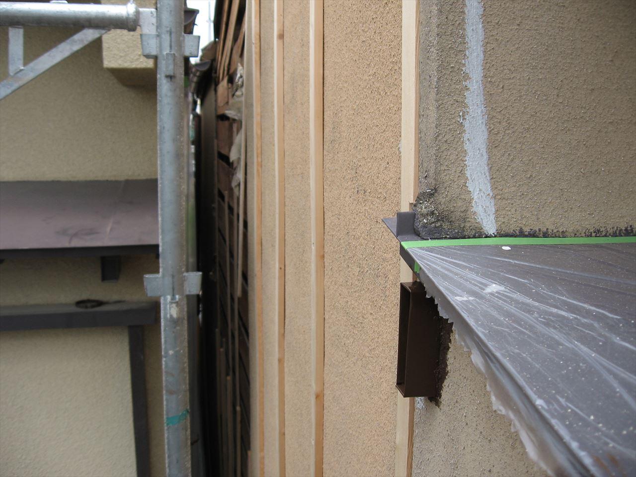 南区辻様邸外壁塗り替え・サイディング張替え工事の施工前写真その2