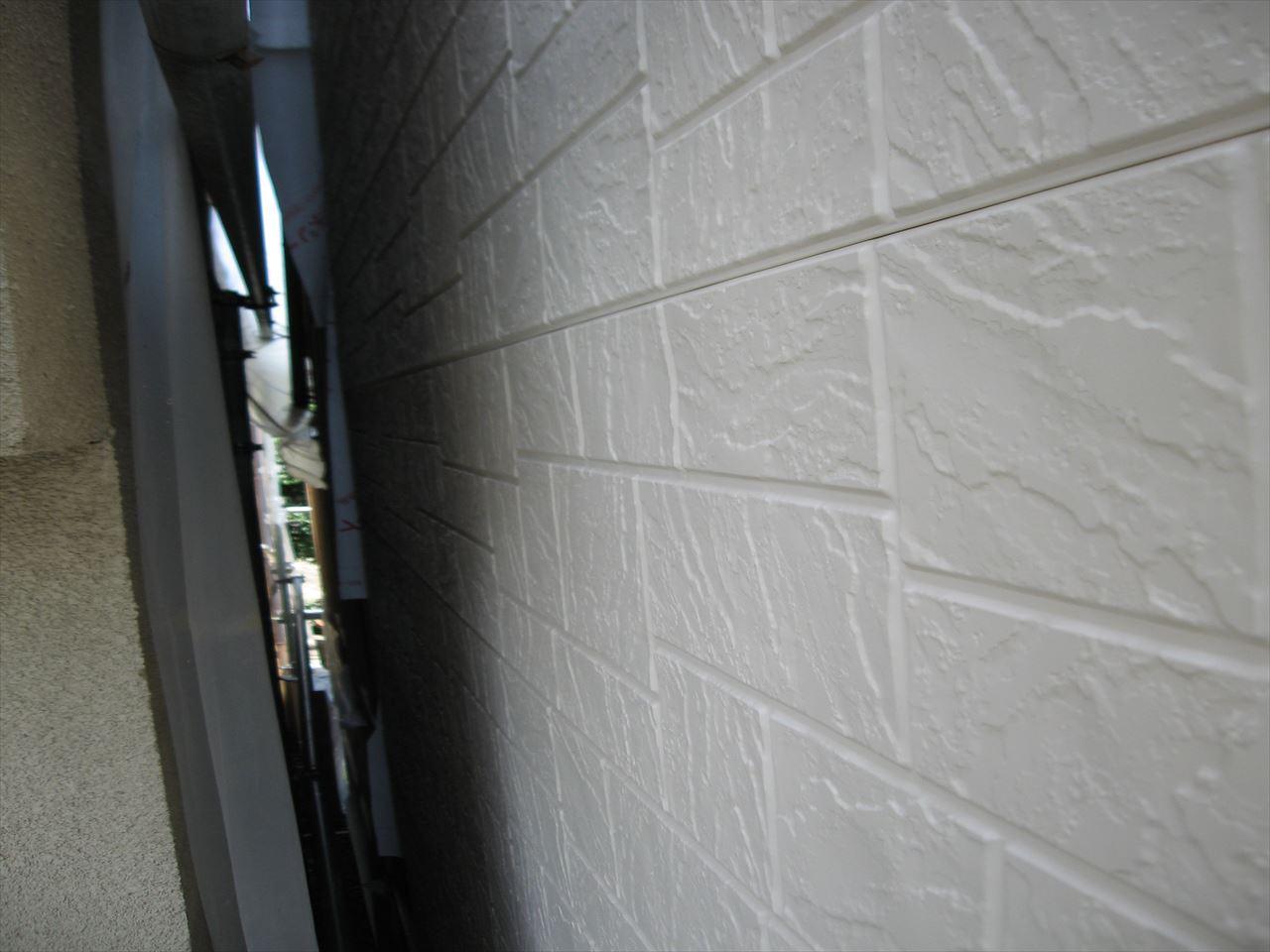 南区辻様邸外壁塗り替え・サイディング張替え工事の施工後写真その2