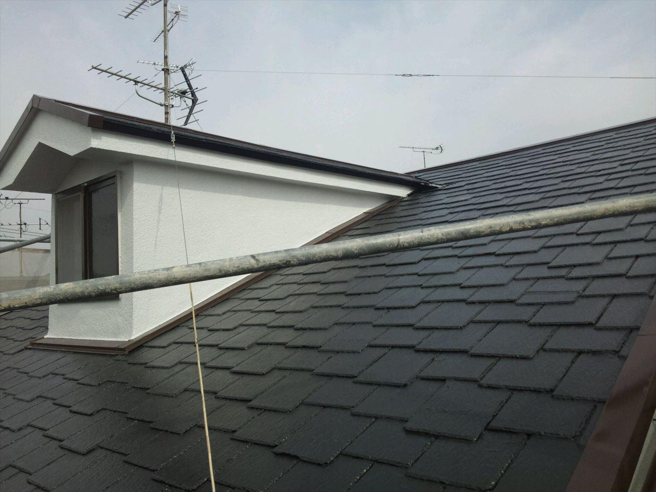 城陽市松井様邸外壁・屋根塗り替え工事の施工後写真その2