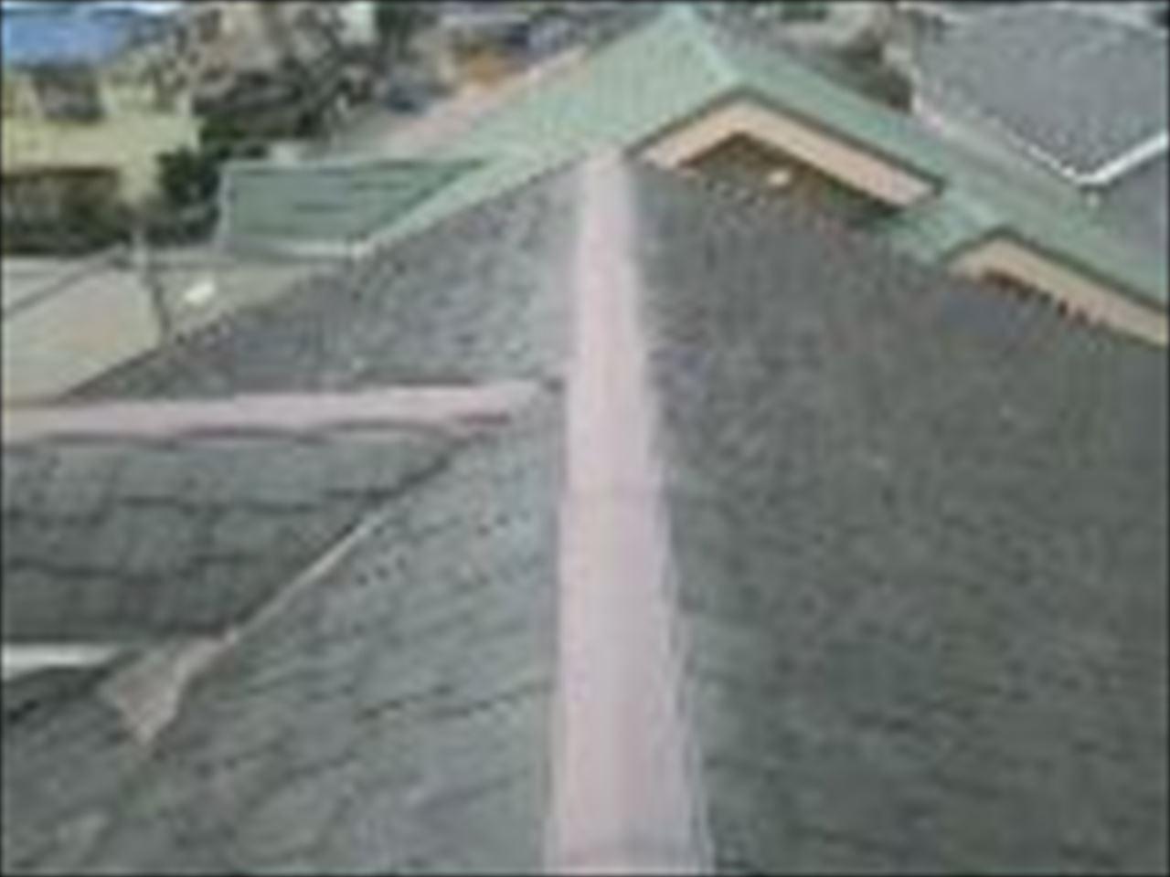 城陽市松井様邸外壁・屋根塗り替え工事の施工前写真その2