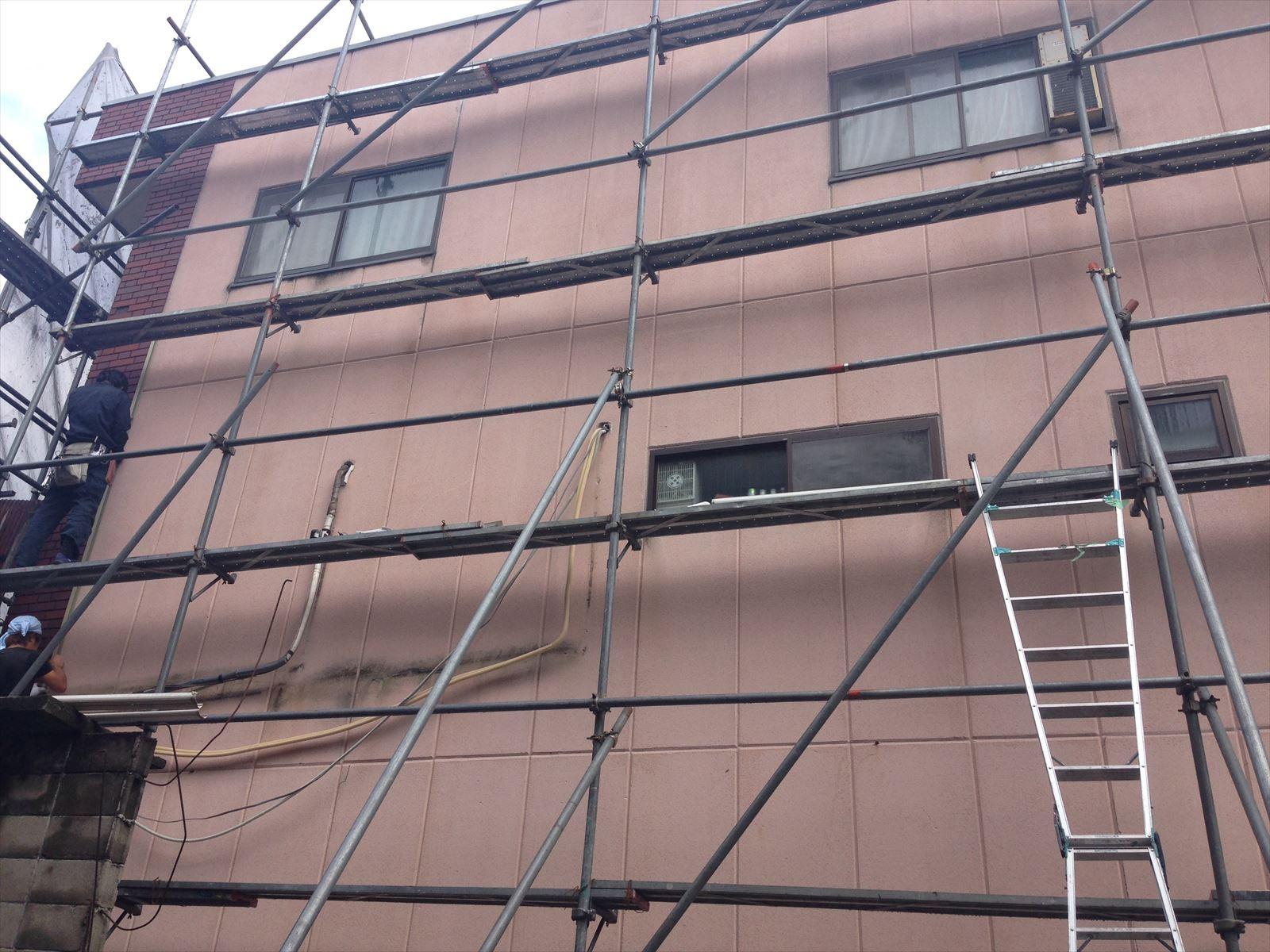 下京区守野様邸外壁・屋根塗り工事の施工前写真その2