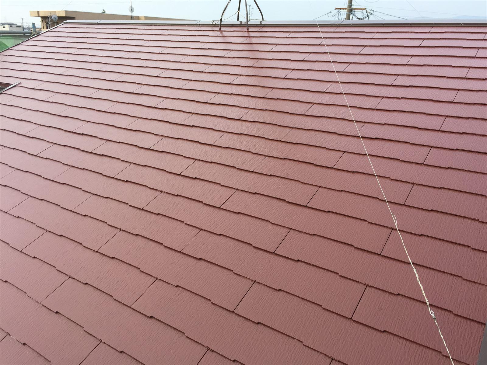 伏見区大山様邸外壁・屋根塗り替え工事の施工後写真その2