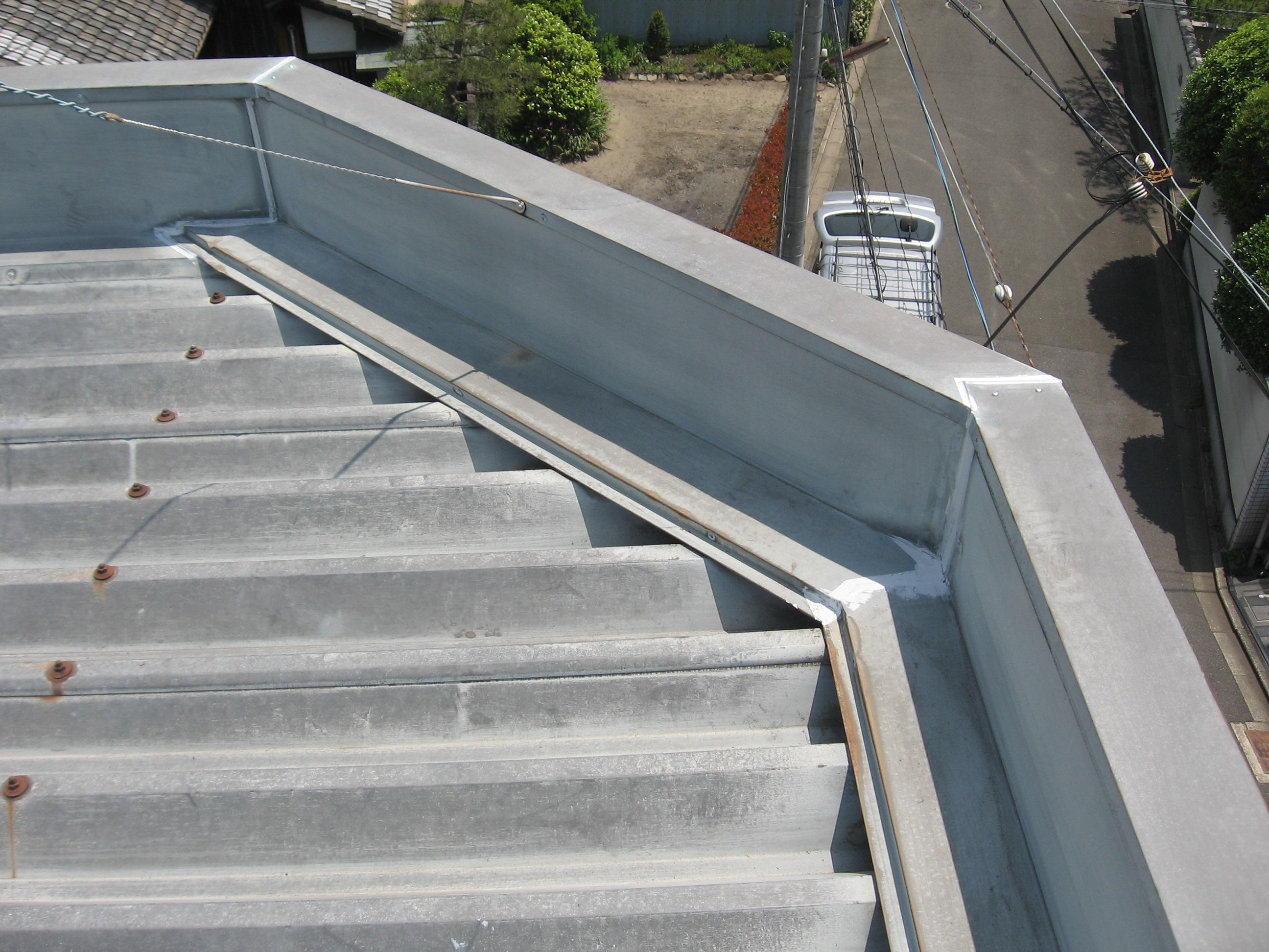 南区船野様邸外壁・屋根塗り替え工事の施工前写真その1