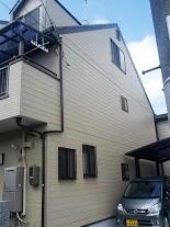 南区松澤様邸外壁塗り替え工事の施工後写真その2