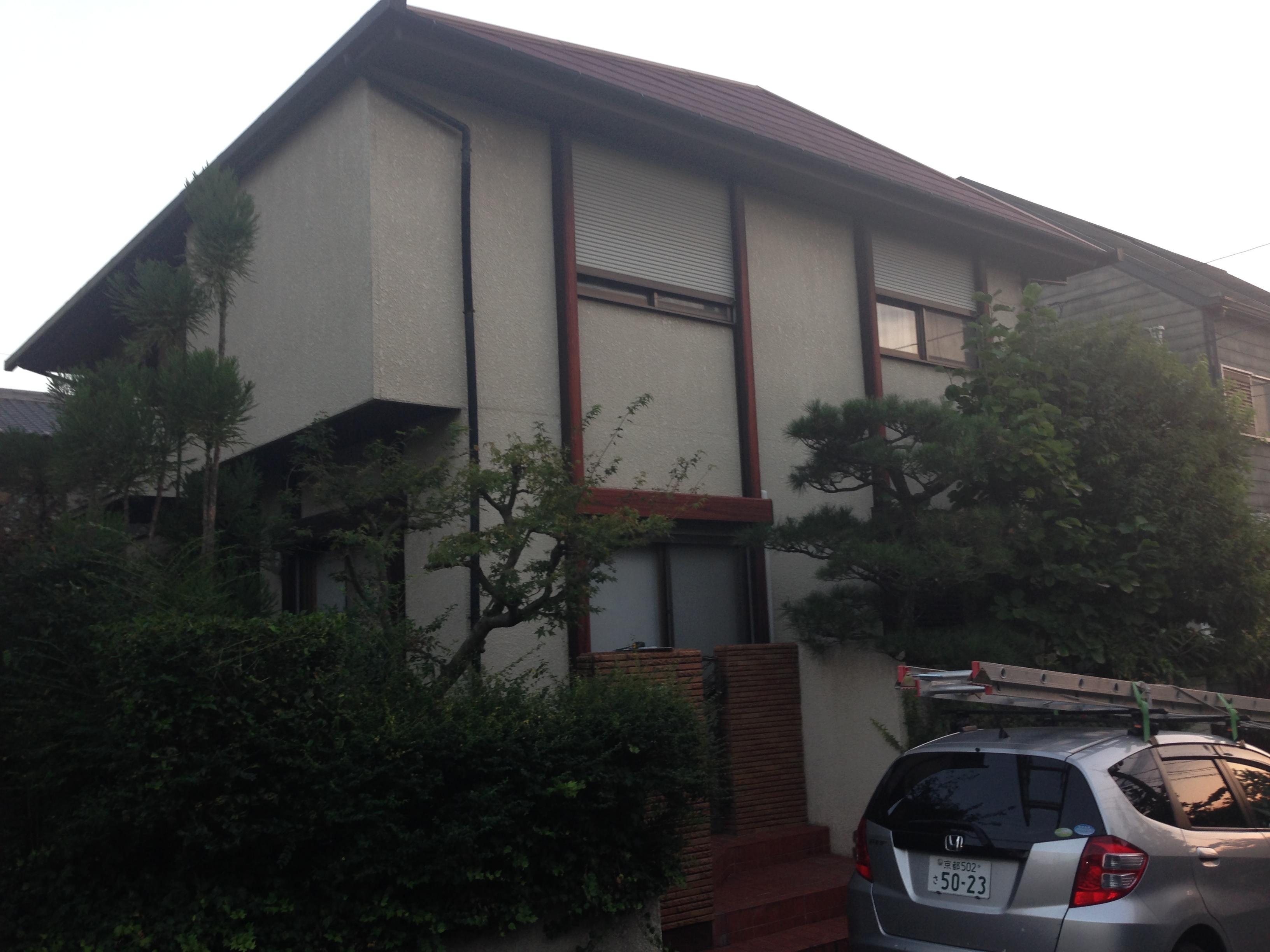西京区K様邸改修工事の施工前写真その1