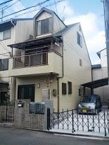 南区松澤様邸外壁塗り替え工事の施工後写真その1