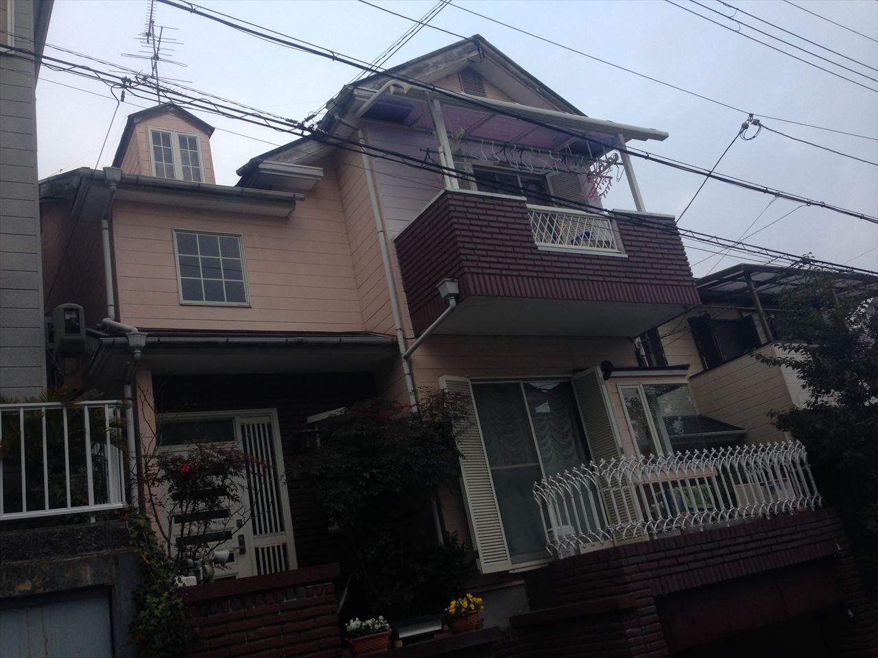 西京区田村様邸の施工前写真その1