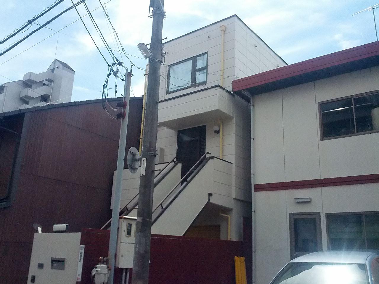 伏見区柳川様邸外壁塗装工事の施工後写真その1