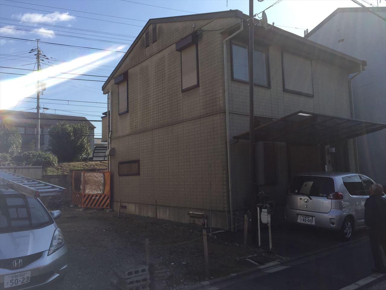大津市田中様邸の施工前写真その1