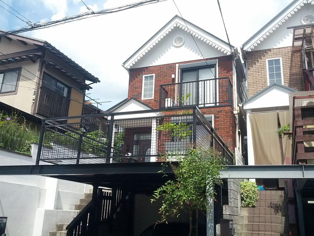 伏見区澤井様邸外壁・屋根塗り替え工事の施工後写真その1