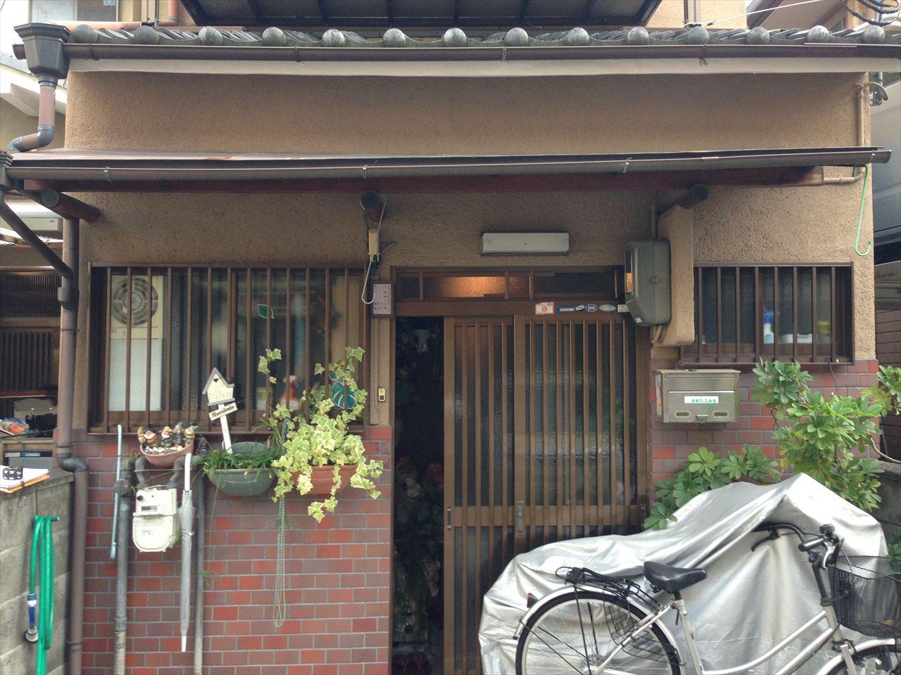 西京区太田様邸の施工前写真その1