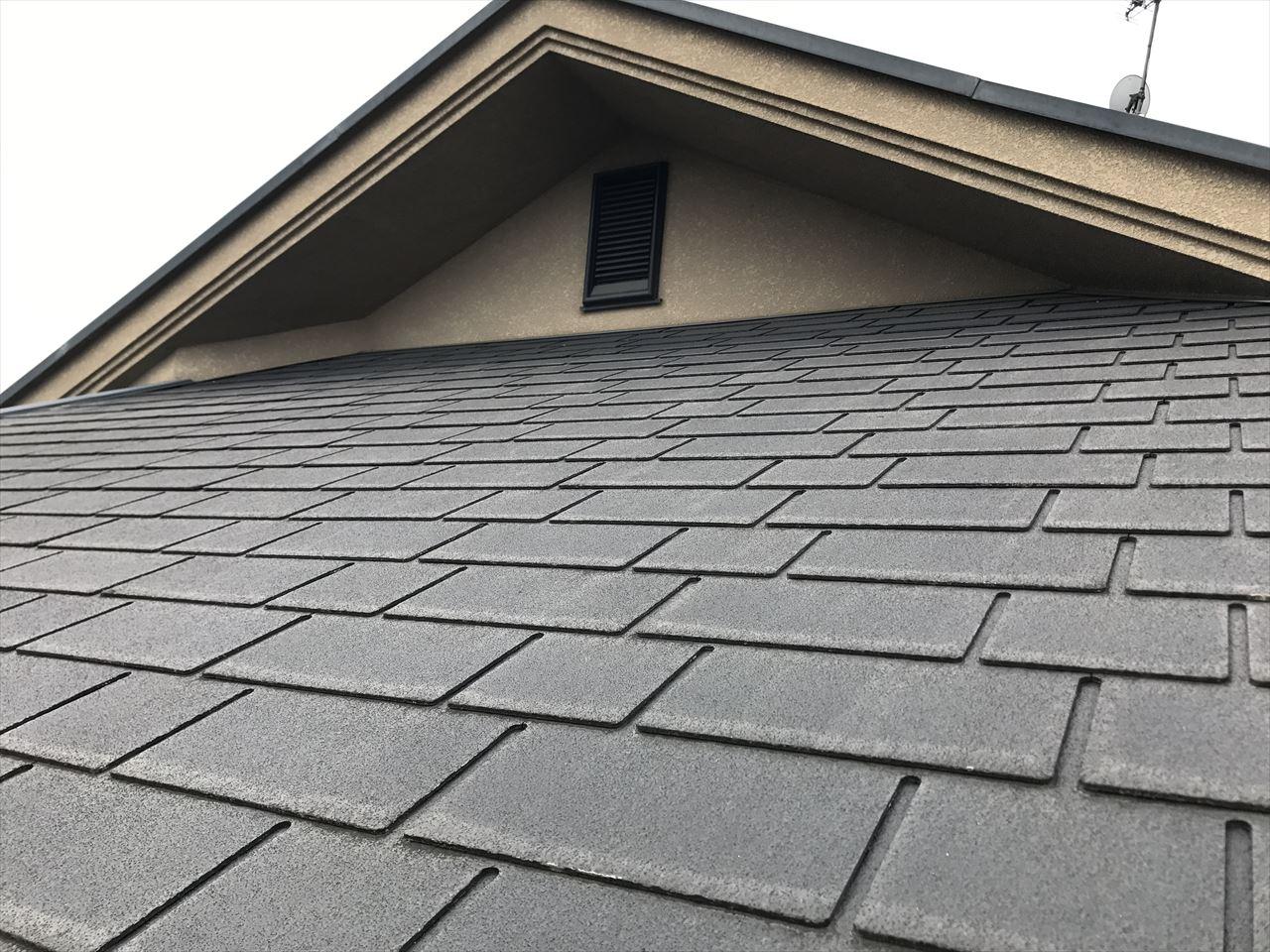 長岡京市辻様邸外壁・屋根塗り替え工事の施工前写真その1