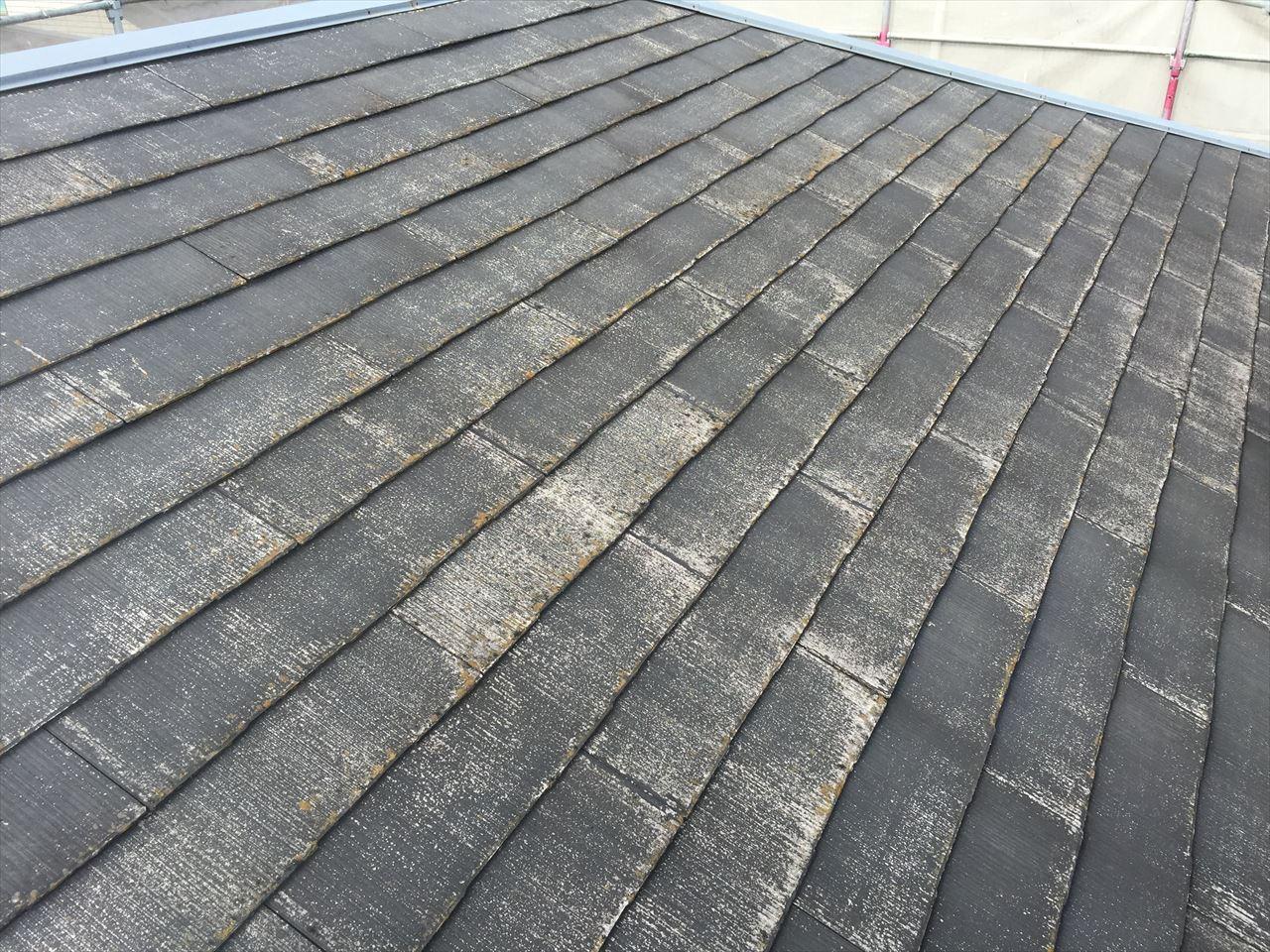 北区大八木様邸屋根塗り替え工事の施工前写真その2