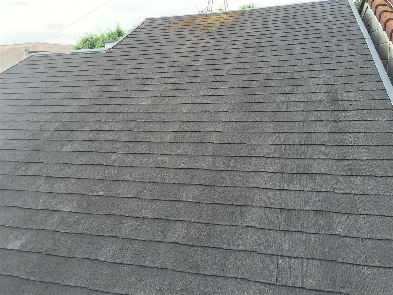 北区大八木様邸屋根塗り替え工事の施工前写真その1