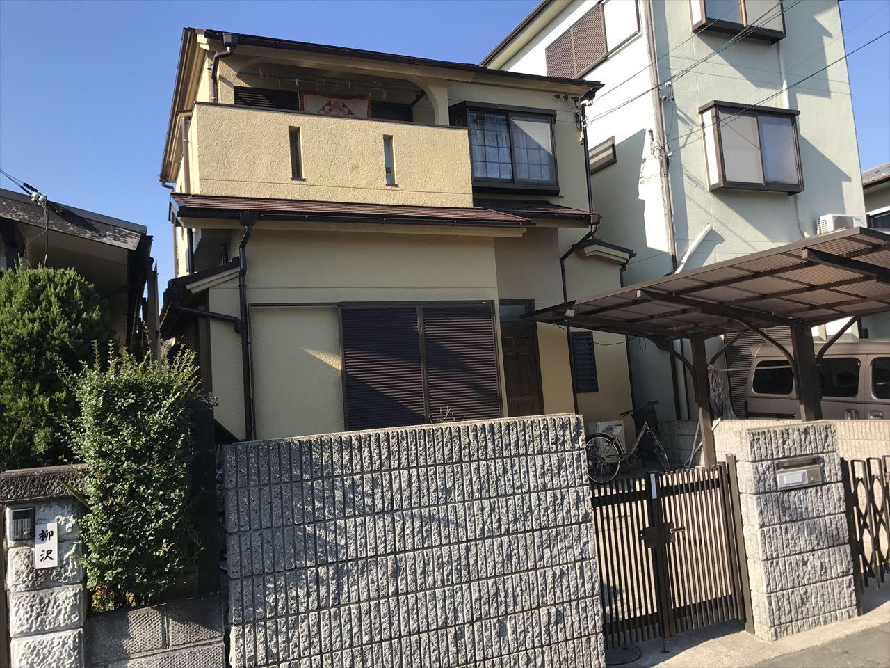 長岡京市井口様邸外壁・屋根塗り替え工事の施工後写真その2